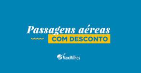Economize com cupons de descontos do Viajei na MaxMilhas