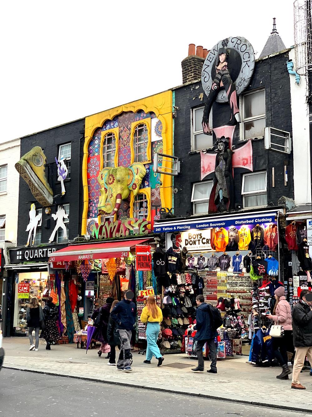 Camden Town - Roteiro Londres