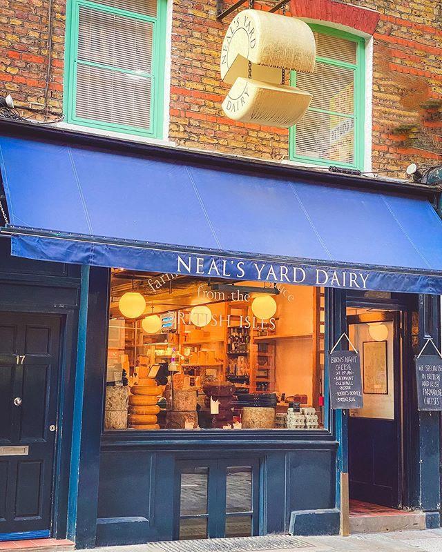 Neals Yard Dairy Roteiro Londres