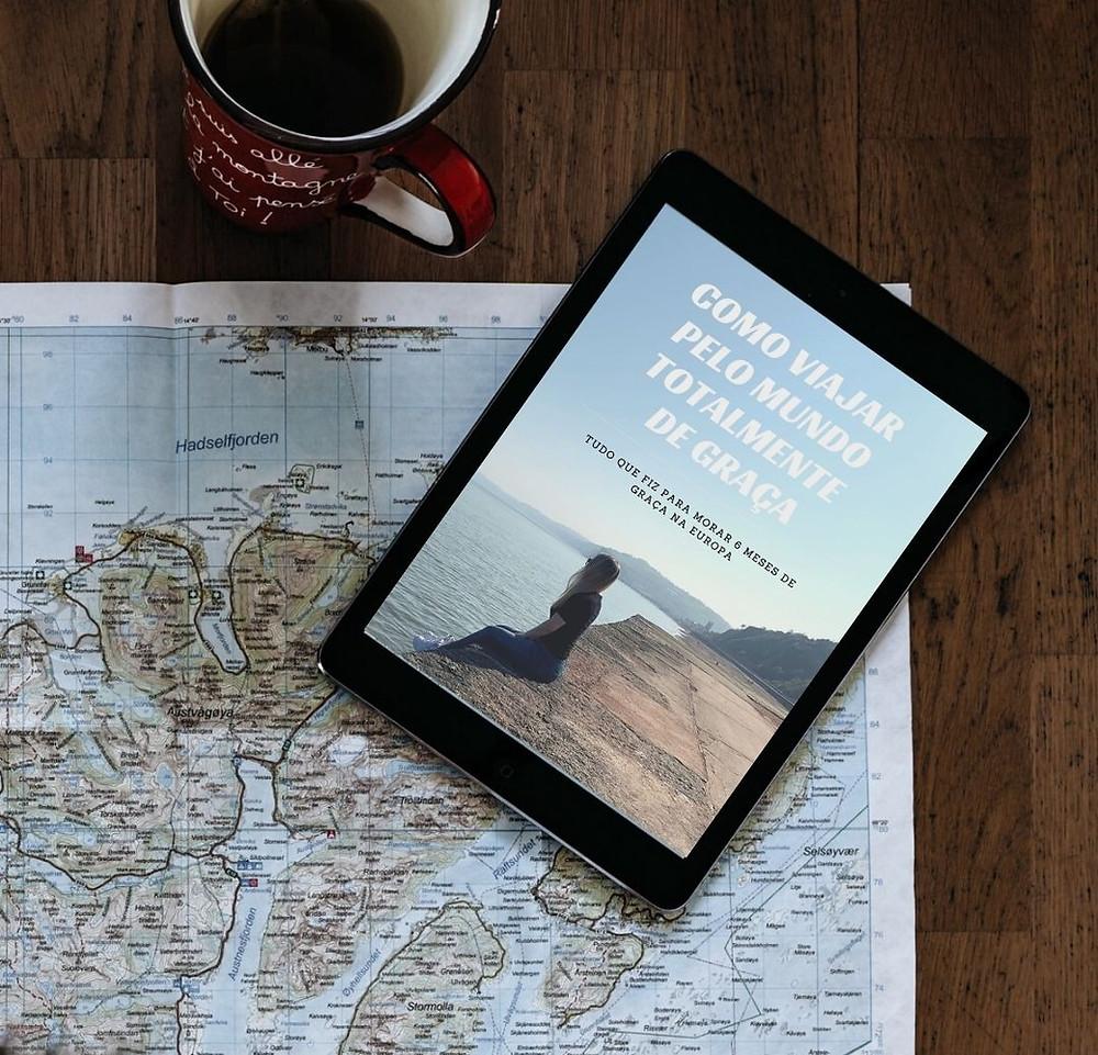 e-book como viajar totalmente de graça viajar de graça