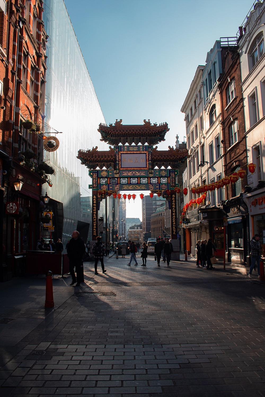 Chinatown - Roteiro Londres