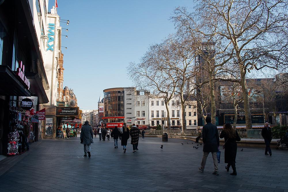 Leicester Square - Roteiro Londres