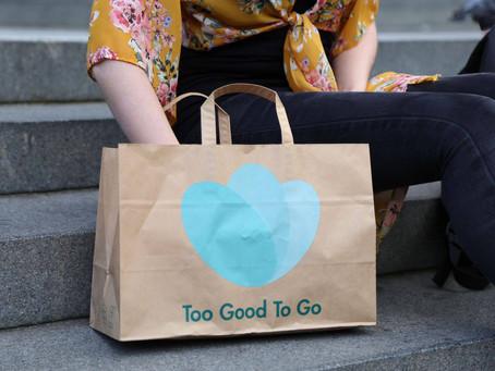 Too Good To Go! Movimento contra o desperdício de alimentos.