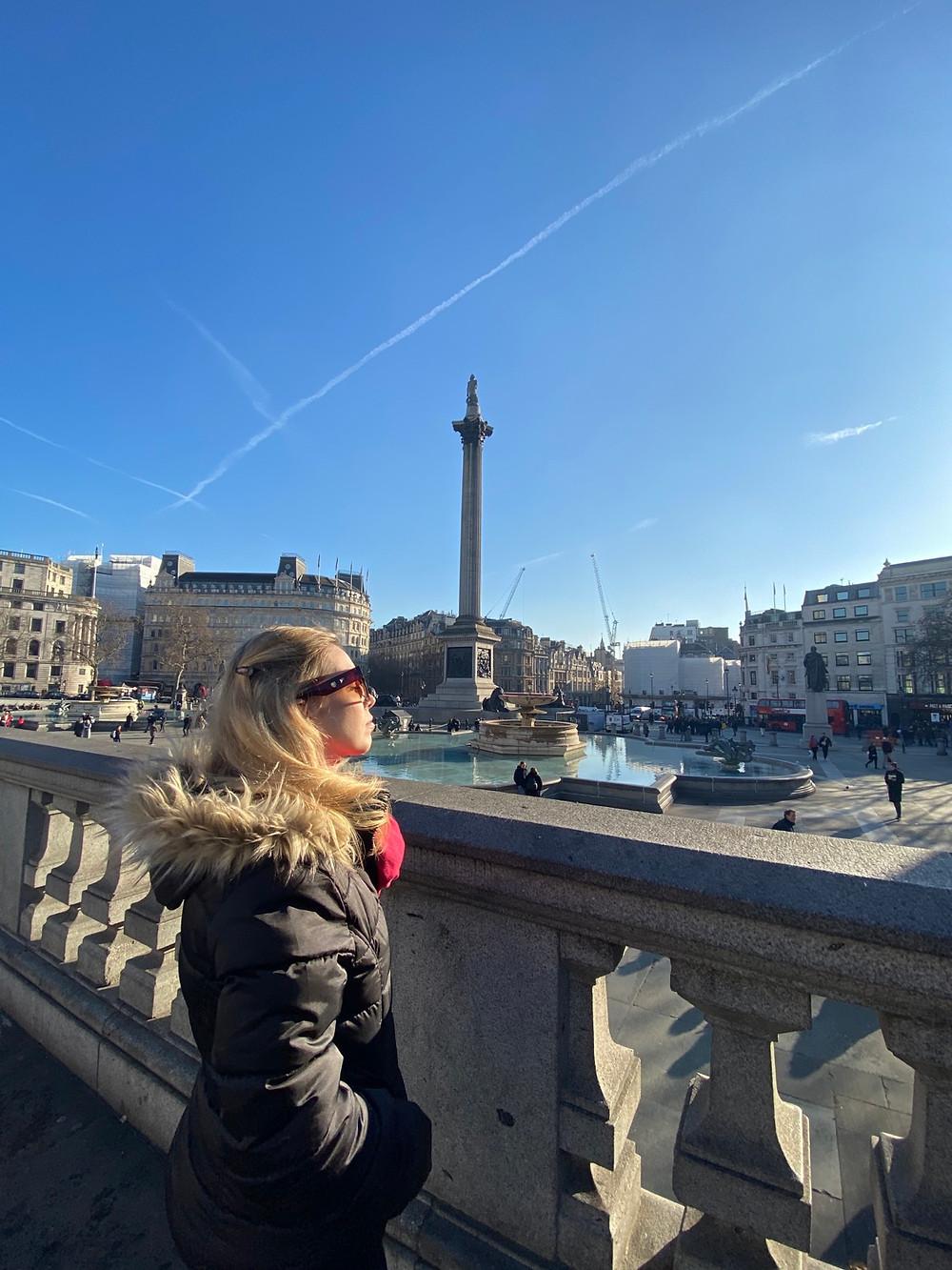 Trafalgar Square - Roteiro Londres