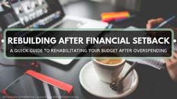 Rebuilding After a Financial Setback