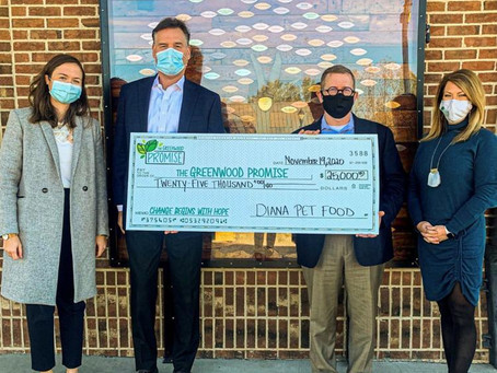 Greenwood Promise receives new gift