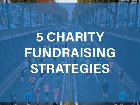 5 Charity Fundraising Strategies
