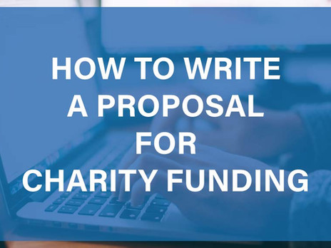 How to Write a Proposal for Charity Funding
