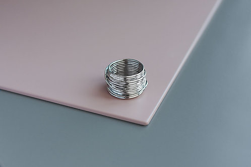 Wire ring // silver 925