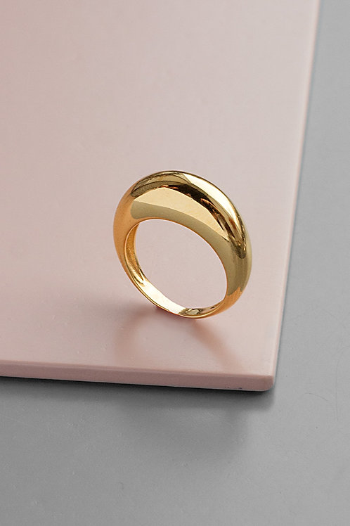 "Thin ""Gal"" ring // gold plated"
