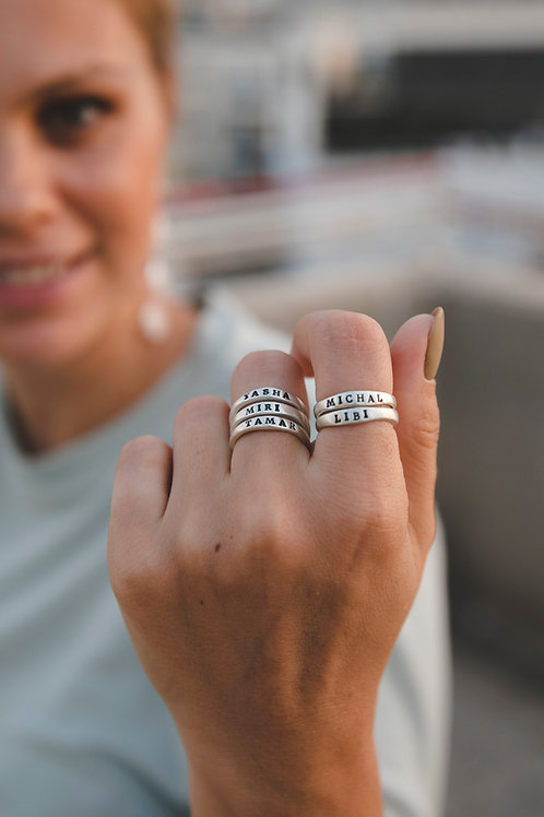 """""""Story"""" ring // silver 925"""