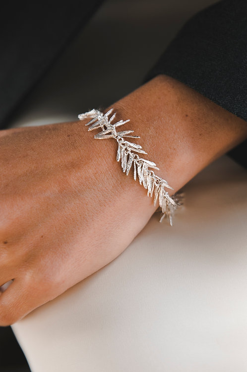 """Bracelet """"Rosemarine"""" // silver 925"""