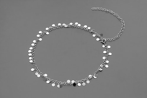 Choker with coins // silver 925