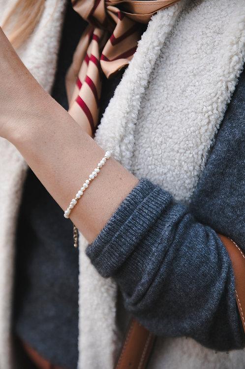 River pearl bracelet // silver 925