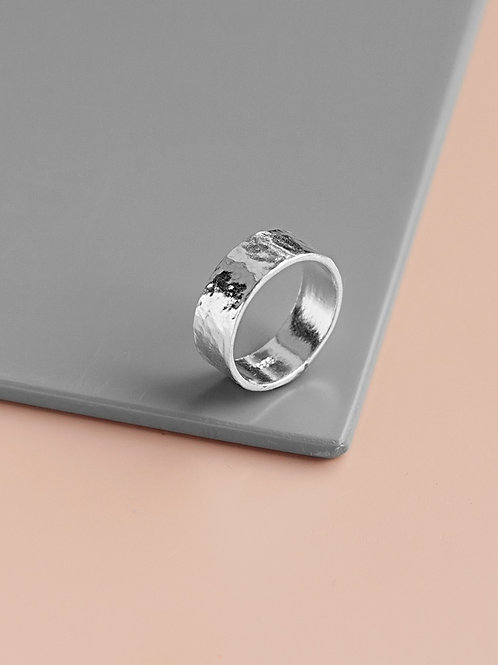 Straight ring // silver 925