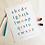 Thumbnail: Custom Watercolor Alphabet Art