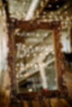 Wedding Mirror Sign