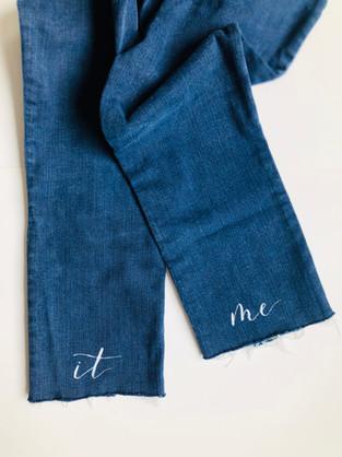 Custom Painted Jeans