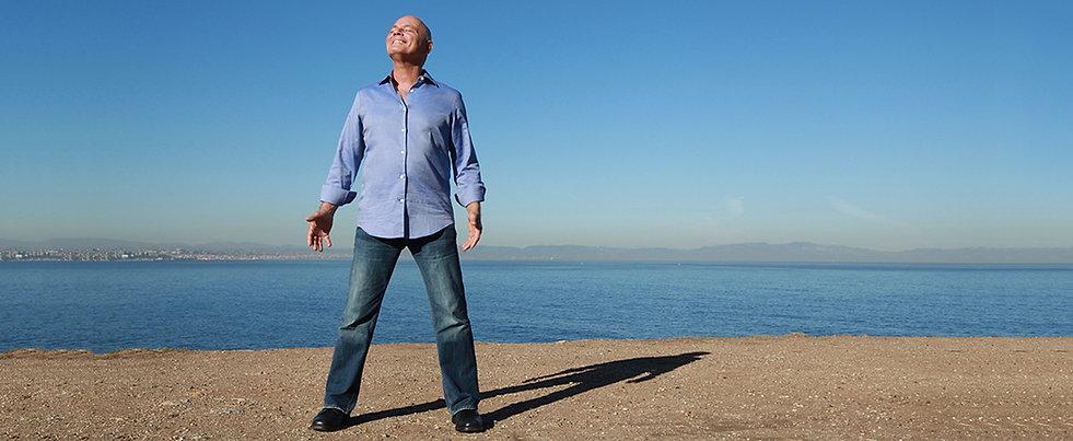 Dr Jacob Liberman at the Beach