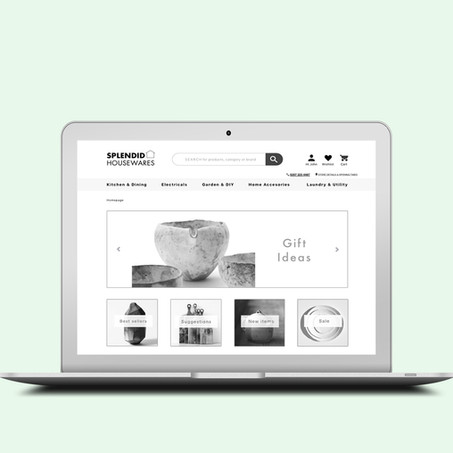 SPLENDID HOUSEWARES UX DESIGN