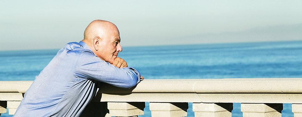 Dr. Jacob Liberman by the Sea