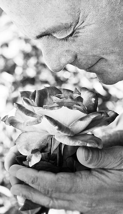 Dr Jacob Liberman Smelling the Roses