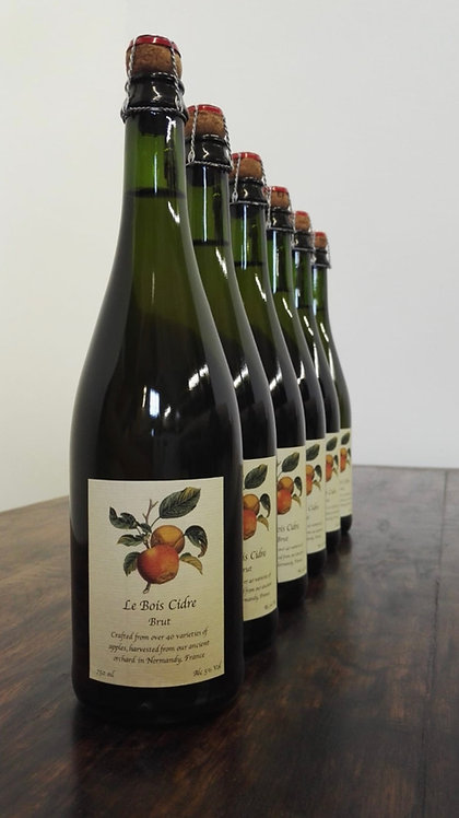 6 x Le Bois Cidre 750ml Bottle
