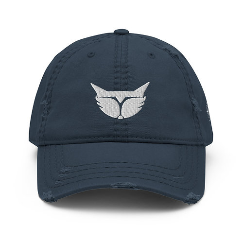 EXO/Clan Fox Distressed Dad Hat