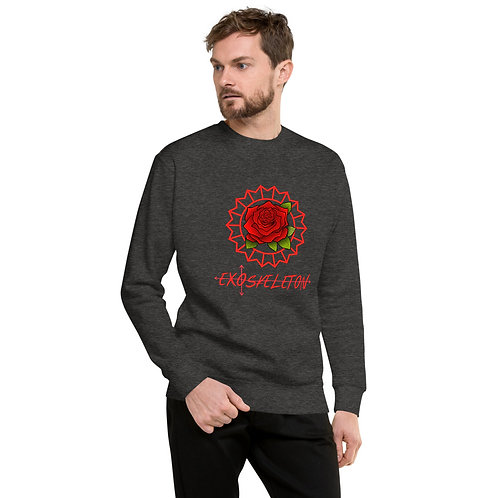 EXO Floral Fleece Sweatshirt