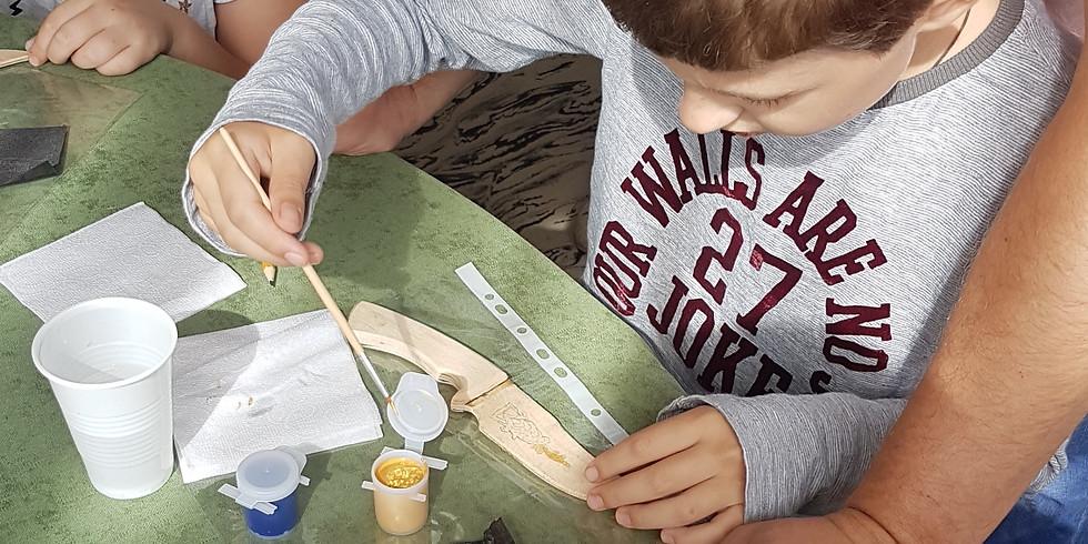 Мастер-класс по украшению ножа в технике гравюры на стали
