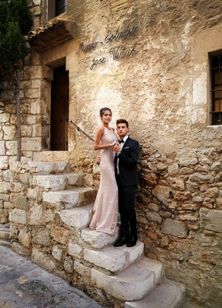 Sitges Wedding Photos. beautiful summer photos