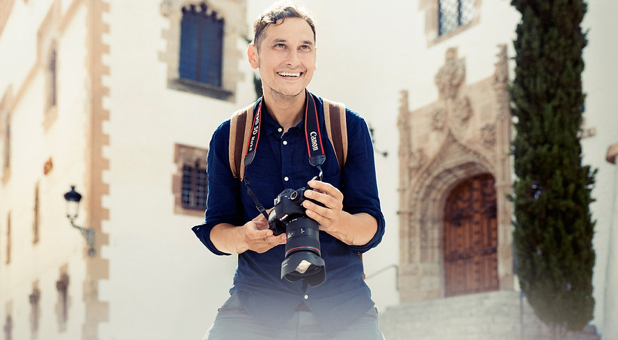 Photo of David DeMarli. Sitges Wedding Photographer