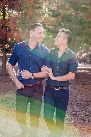 Engagement shoot Sitges Park