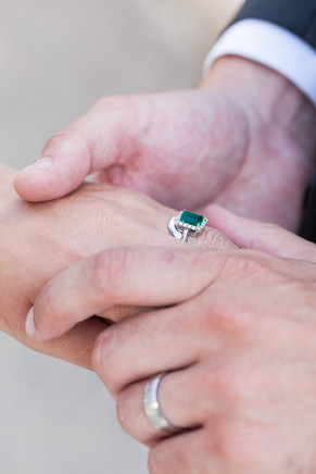 The Rings. Married. Sitges.