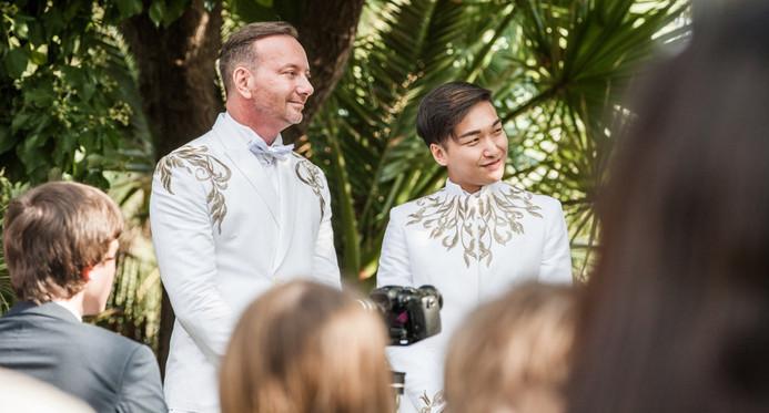 Wedding service. Sitges