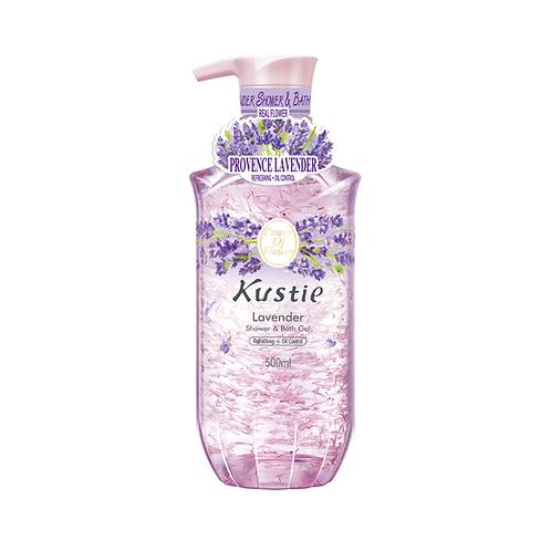 Kustie Lavender Shower & Bath Gel 500ml (In Pump)