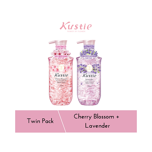Cherry Blossom + Lavender