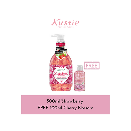 500ml Strawberry free 100ml Cherry Blossom