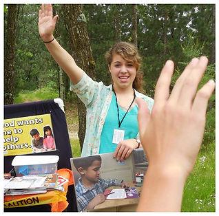 Teens Teaching Children