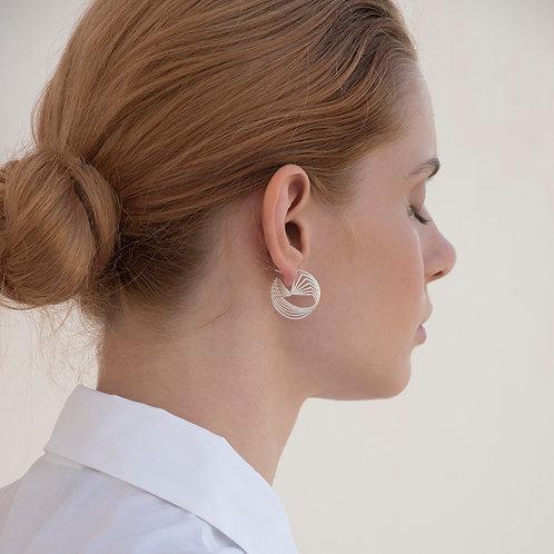 Circle Movement Earrings