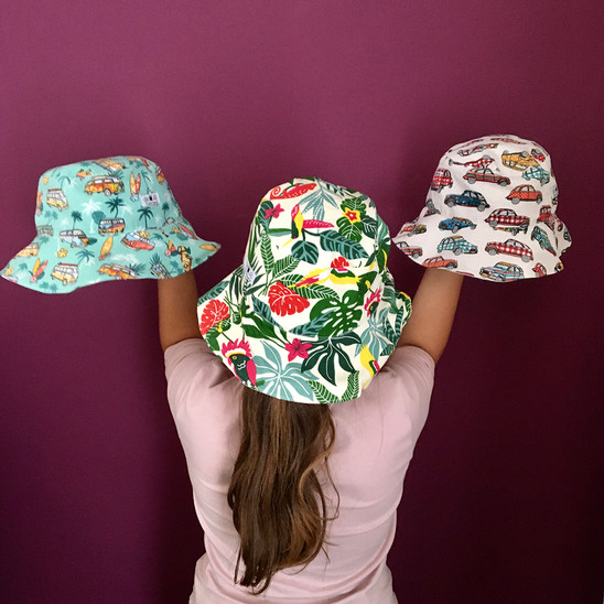 Hats by Crafter Mama