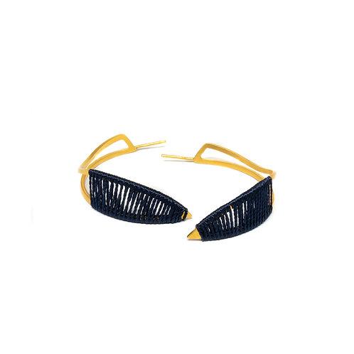 Hoop Thread Earrings