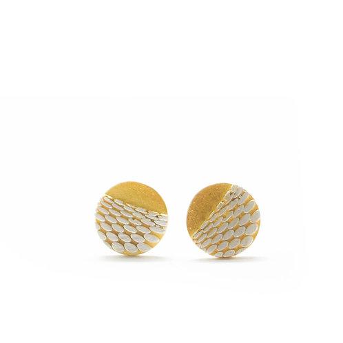 Tiny Stud Imprint Earrings