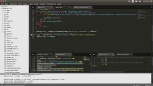 debug output