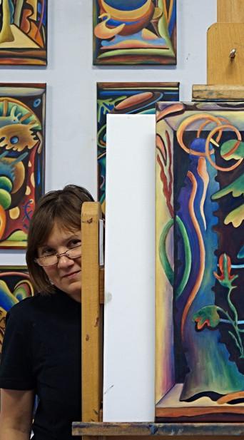 Татьяна Гальцева , талантливая художник Бельгия