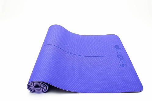 EcoStrength Purple Yoga Mat