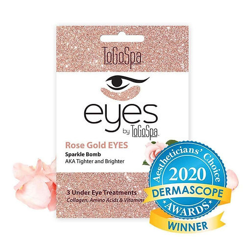 Rose Gold Eyes by ToGoSpa