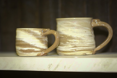 Mommy and Me Mugs - Tan