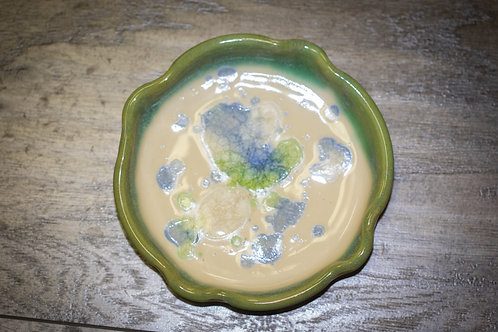 Erie Sea Glass Dish