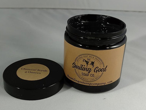 Charcoal Scrub by Smiling Goat